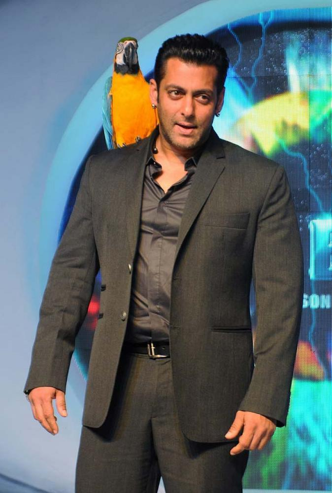 Salman Khan Spotted at The Launch Of Bigg Boss Season 6