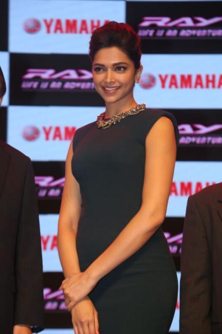 Deepika Padukone Launches Yamaha Ray Scooter