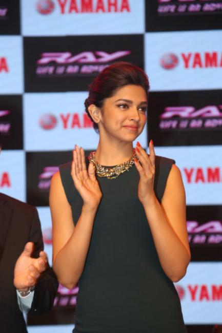 Hot Deepika at The Launch of Yamaha Ray Scooter