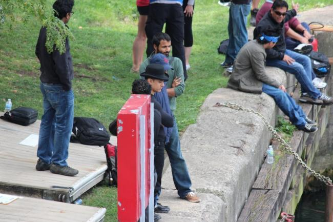 Aamir Khan In Chicago For Dhoom 3 Shooting