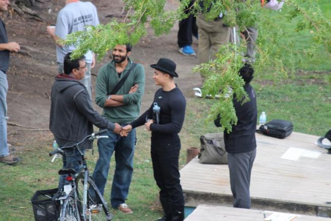 Aamir Khan Meet The Fans in Chicago