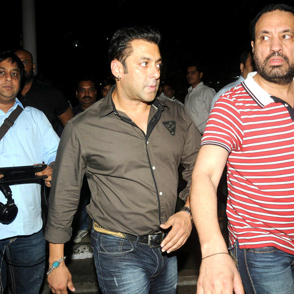 Salman Khan Spotted at Domestic Airport