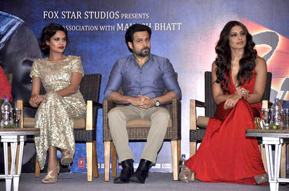 Bipasha,Emraan and Esha During The Success Party Of Raaz 3