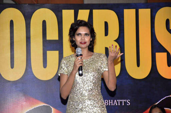 Esha Gupta Speaks During The Success Party Of Raaz 3