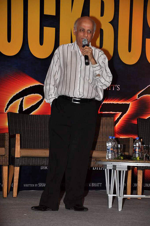 Mukesh Bhatt Speaks During The Success Party Of Raaz 3