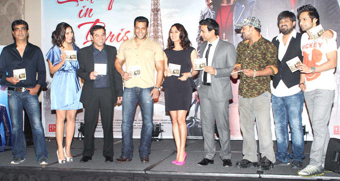 Cast and Crew Launches Ishkq In Paris Movie Music