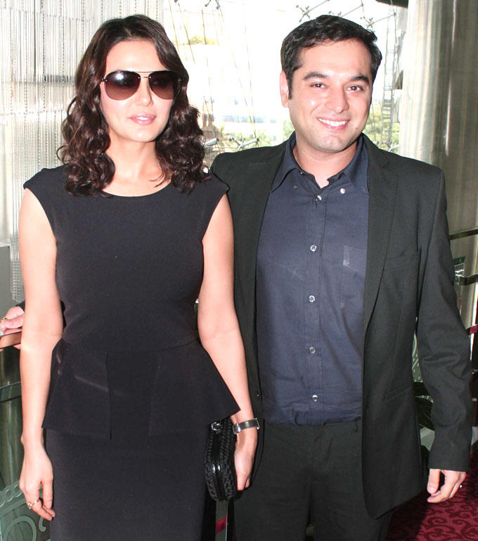 Preity Zinta During The Music Launch Event Of Ishkq In Paris