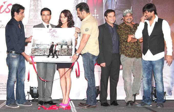 Salman Launches Music Of Ishkq In Paris