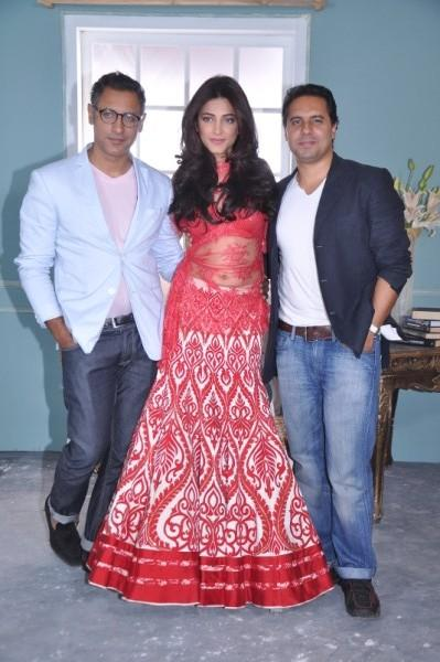 Shantanu and Nikhil Mehra Photo Shoot With Shruti Hassan