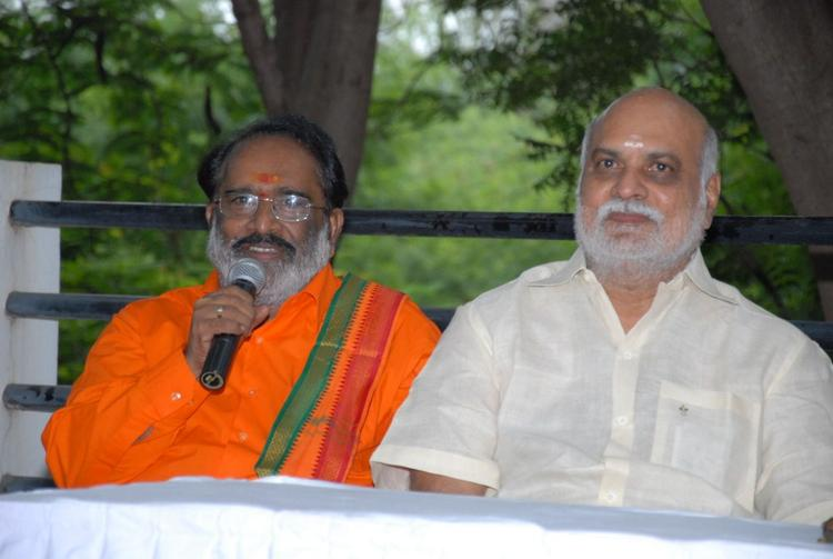 Celebs at Shirdi Sai Movie Success Meet Event