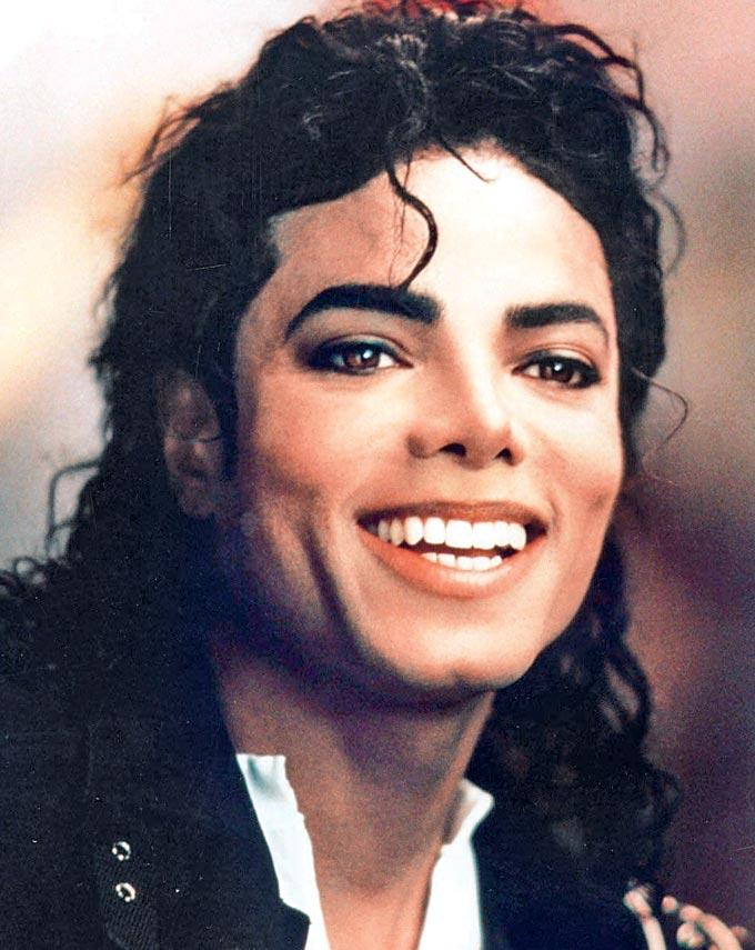 Michael Jackson Cute Face Smiling Pic