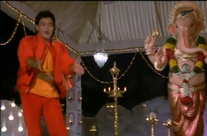 Mithun Chakraborty In Deva Ho Deva Song In Ilaaka Movie