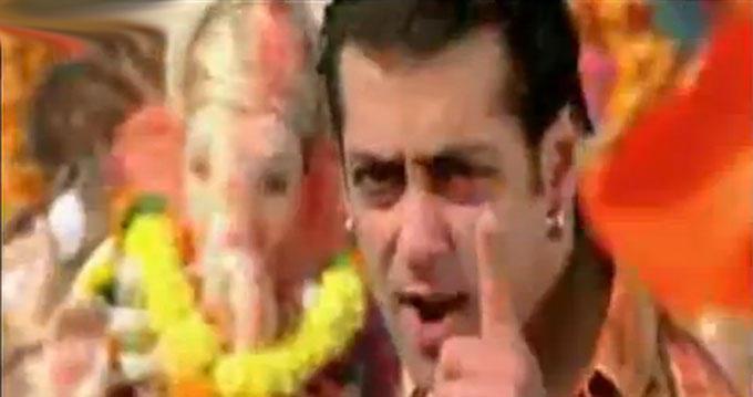 Salman Khan Tera Hi Jalwa Song Still In Wanted Movie