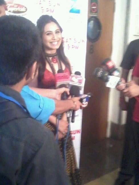 Rani Mukherjee at Dance Ke Superkids Finale