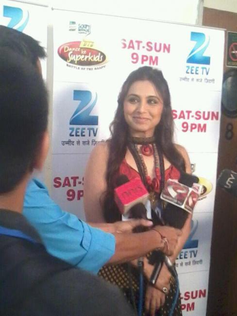 Rani Mukherjee On Dance Ke Superkids Grand Finale