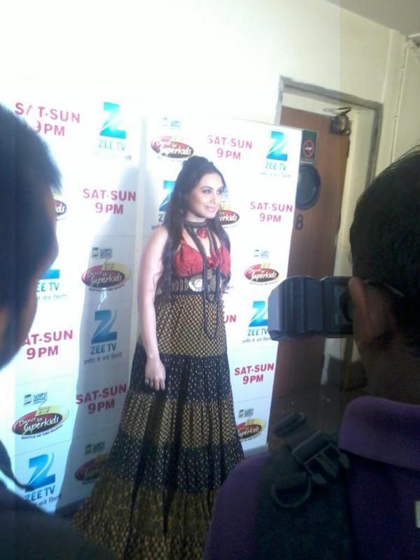 Rani Mukherjee Spotted at Dance Ke Superkids Finale