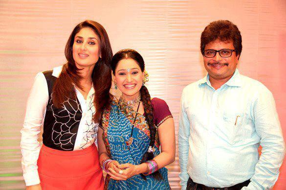 Kareena Promote Heroine On The Sets of Taarak Mehta Ka Ooltah Chashmah
