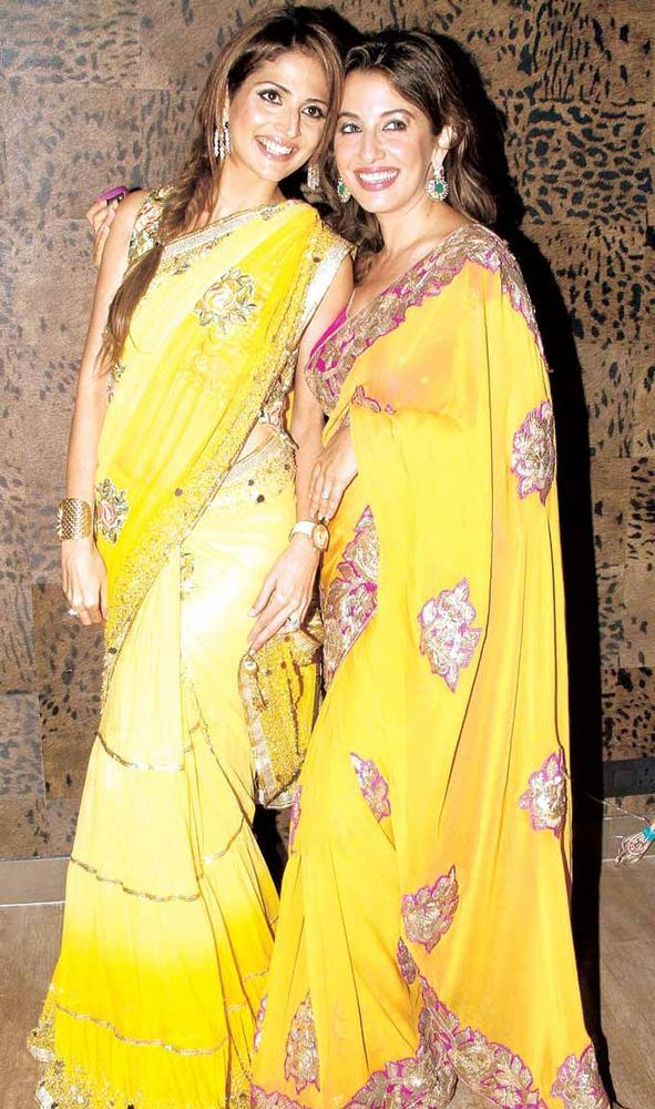 Tanaaz Doshi and Perizaad Zorabian Looking Gorgeous In Saree