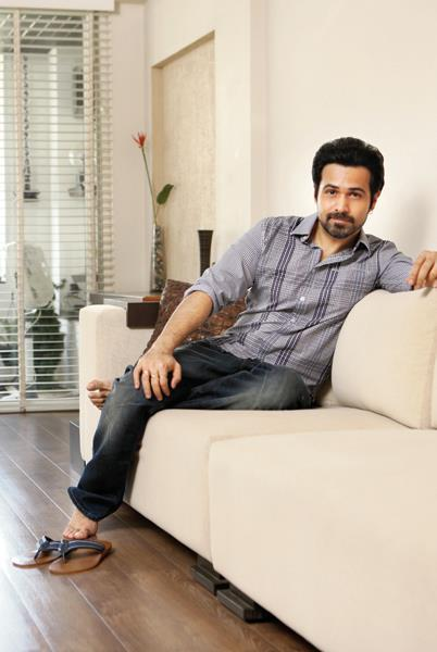 Emraan Hashmi Nice Pose Photo Shoot at His Home