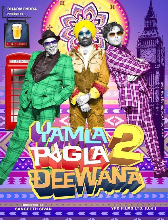 First Look Poster of Yamla Pagla Deewana 2
