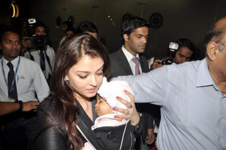 Aaradhya Bachchan's face revealed