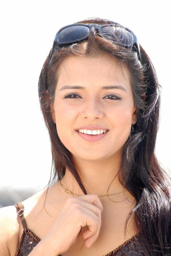 Charming Actress Saloni Stunning Face Look Still