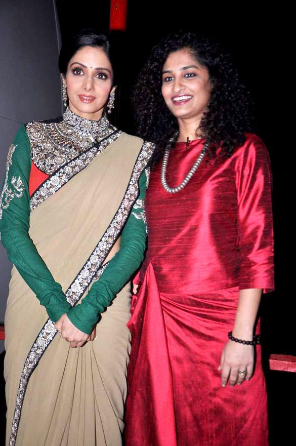 Sridevi and Gauri Promote English Vinglish On The Sets Of KBC 6