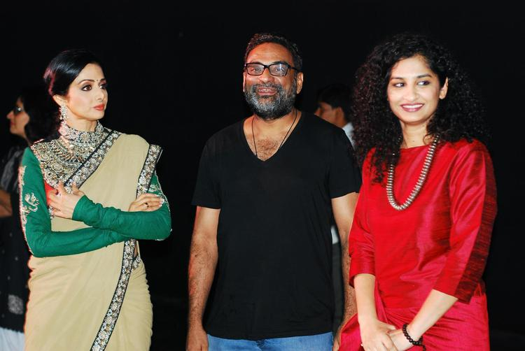 Sridevi and Gauri Spotted at English Vinglish Promotional Event On The Sets Of KBC 6