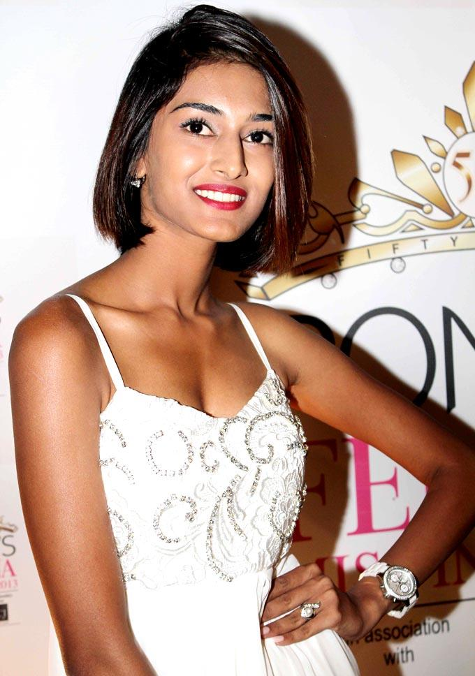 Erica Fernandez Spotted at Ponds Femina Miss India's 50 Years Celebrations