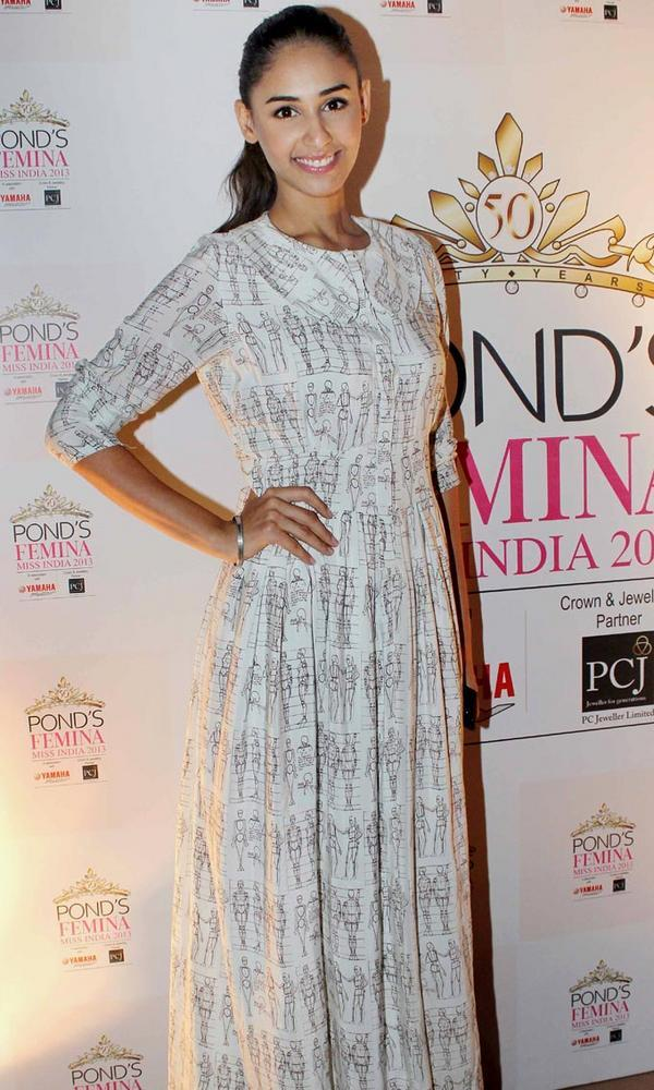 Hasleen Kaur at Ponds Femina Miss India's 50 Years Celebrations