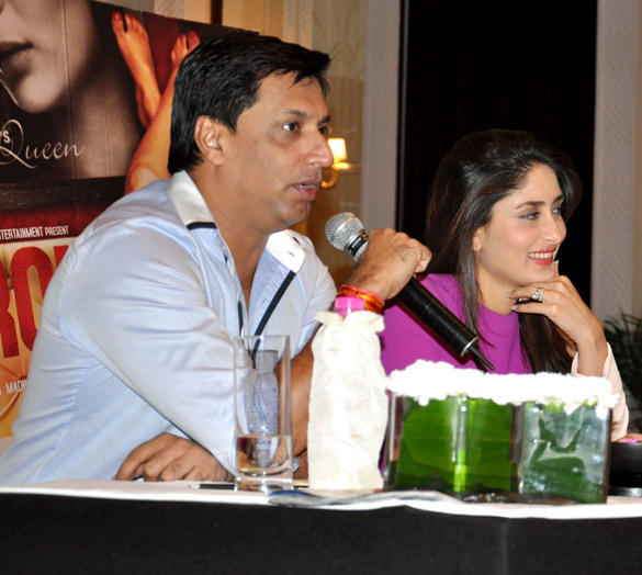 Kareena and Madhur At A Press Conference To Promote Their Upcoming Film Heroine