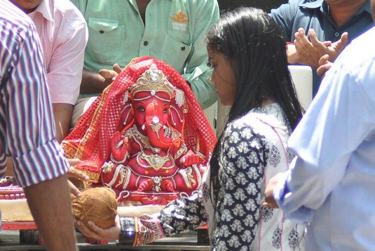 Lord Ganesha at Salman Khan Residence