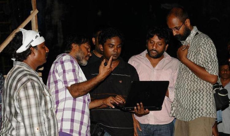 Damarukam Movie Working Still