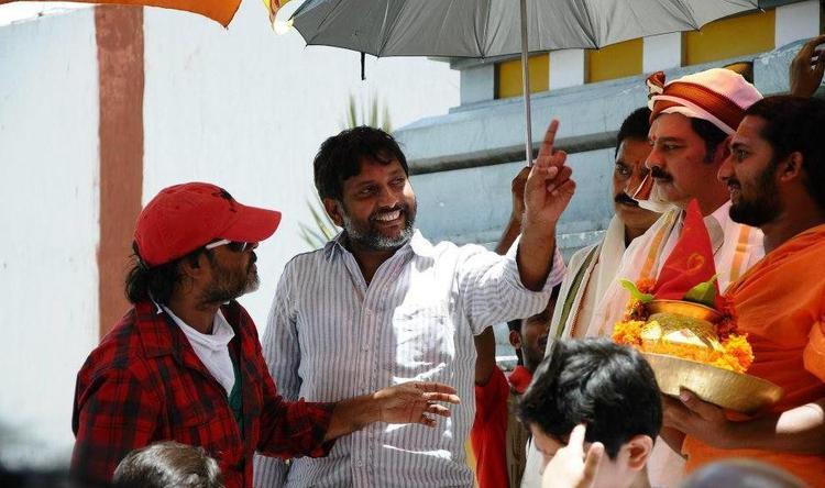 Damarukam Telugu Movie Location Still