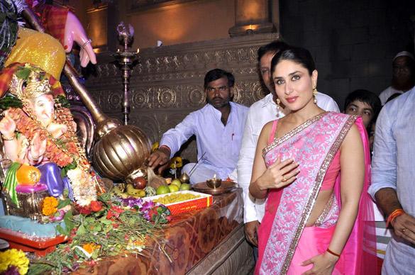 Kareena Kapoor Celebrates Ganesha Chaturthi