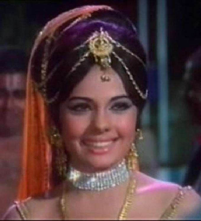 Mumtaz Gorgeous Smile Pic In A Film