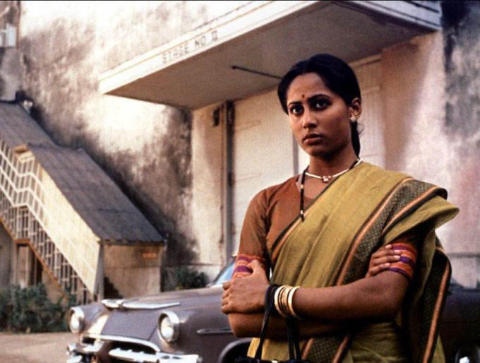 Smita Patil Nice Look In A Traditional Saree
