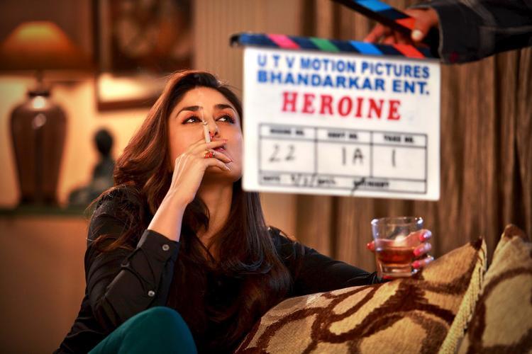 Kareena Kapoor Smoking Still In Heroine Movie