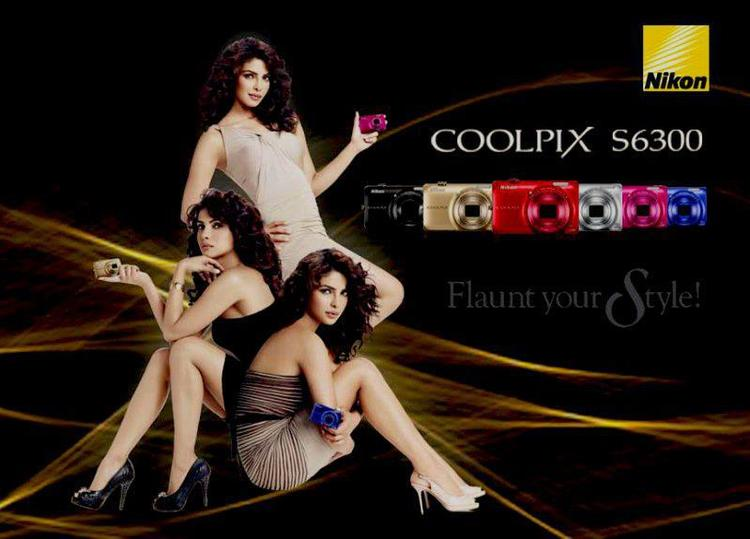 Hottie Priyanka Chopra Latest Shoot For Nikon Ad