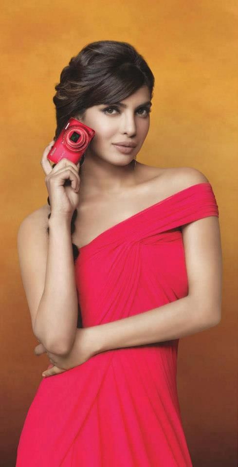 New Nikon Promotional Still By Priyanka Chopra