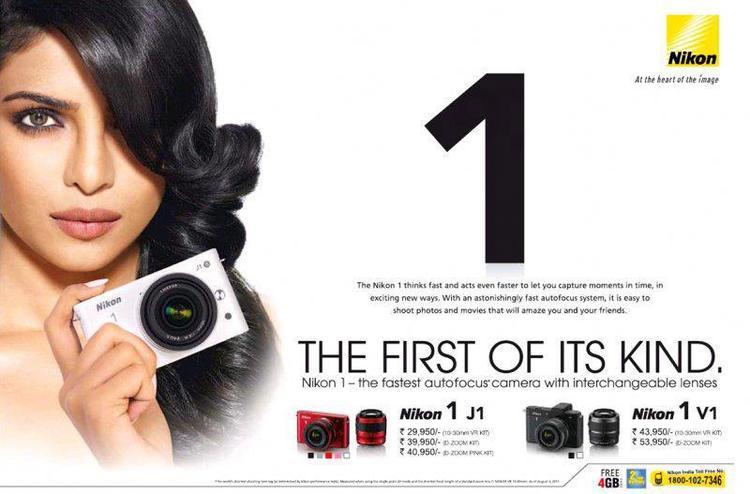 Priyanka Chopra For Nikon Ad