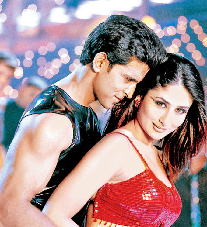 Kareena and Hrithik Sexy Song Still In Kabhi Khushi Kabhie Gham