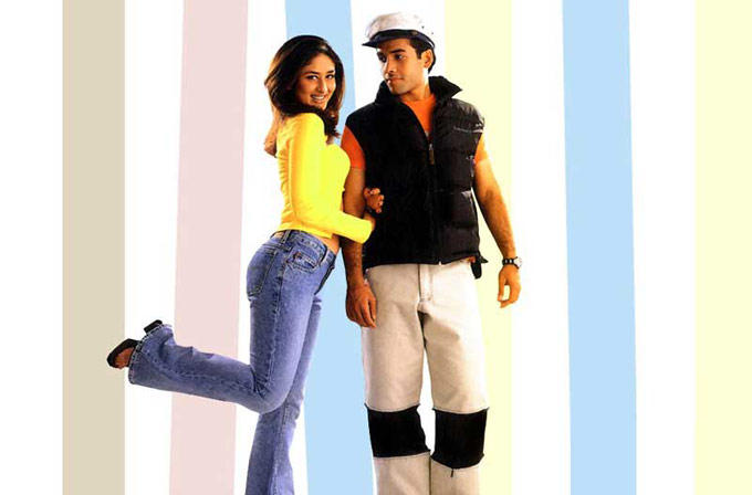 Kareena and Tusshar Sexy Still In Mujhe Kuch Kehna Hai Movie