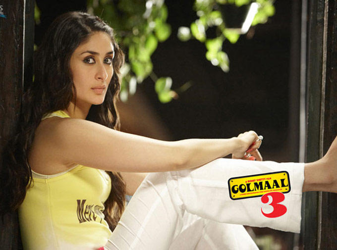 Kareena Kapoor Cute Angry Look Still In Golmaal 3