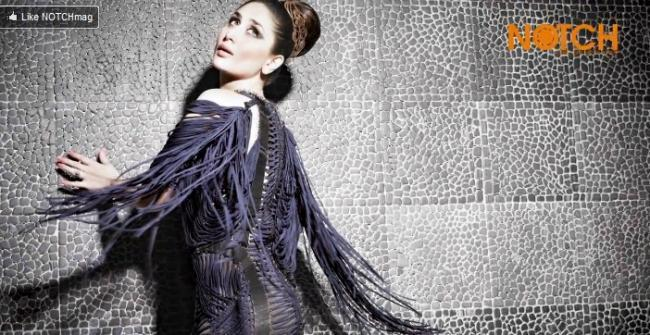 Kareena Kapoor Poses For The September Issue of Notch Magazine