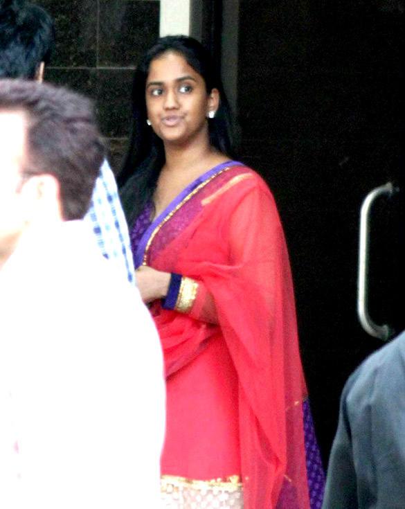 Arpita Khan at Salman Khans Home For Ganesh Visarjan