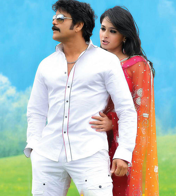 Nagarjuna and Anushka Hot Pic In Damarukam