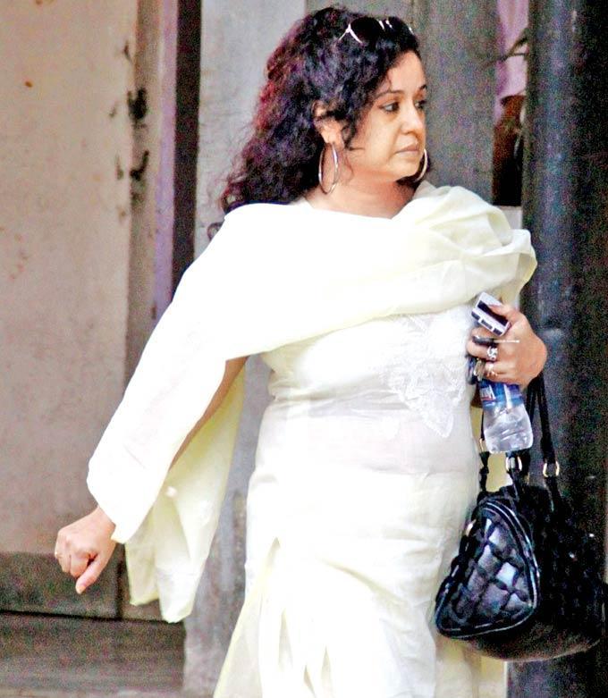 Vandana Sajnani Snapped at Dinesh Thakur Farewell