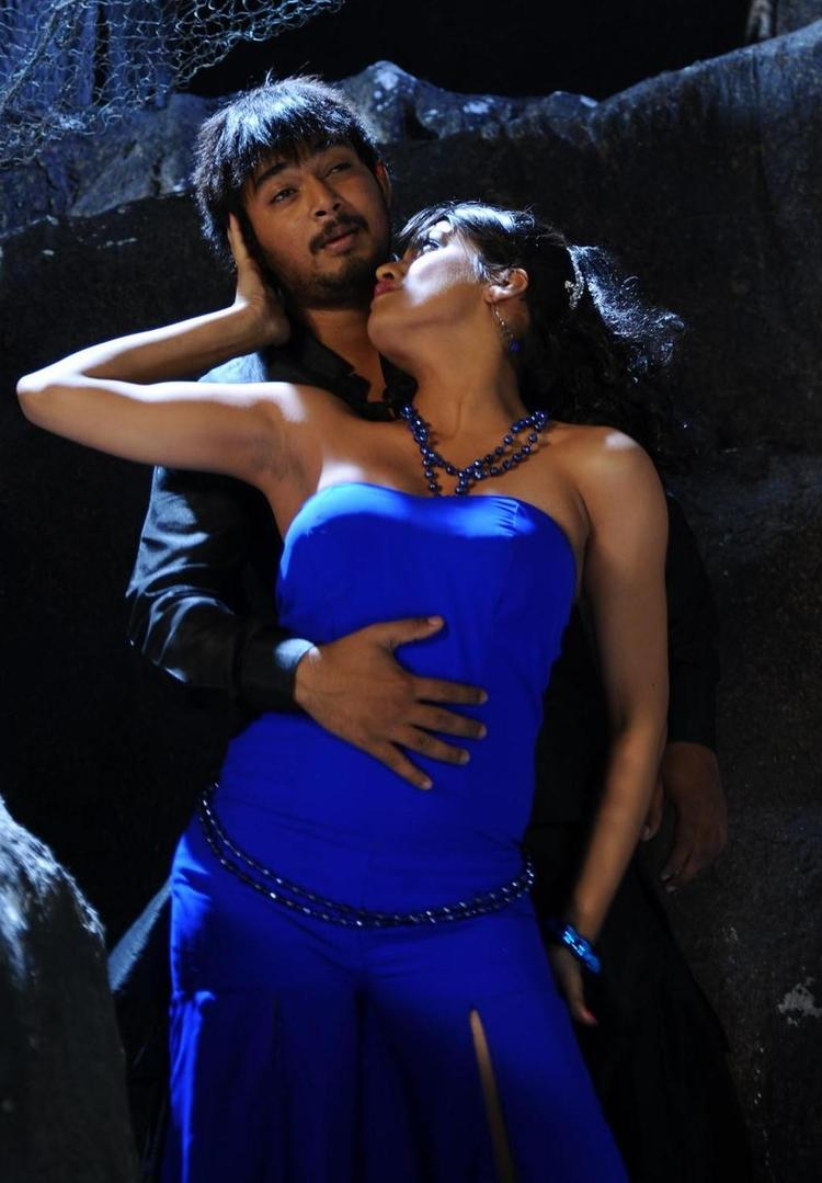 Tashu and Tanish Latest Spicy Still From The Movie Abbai
