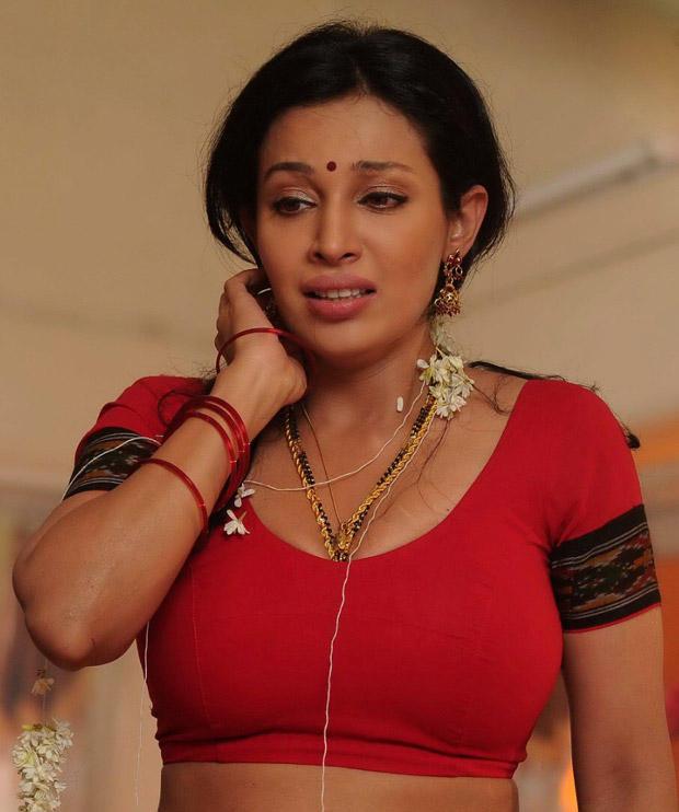 Asha Shaini Red Blouse Hot Photo